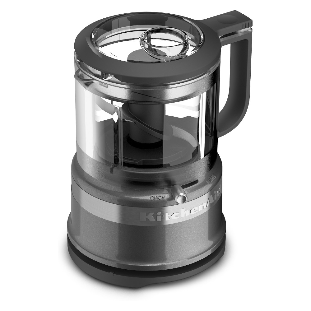 KitchenAid Refurbished 3.5 Cup Mini Food Processor – Graphite (Grey) RKFC3516QG 53422673
