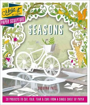 Paper Sculpture Seasons Paperback Shobhna Patel Target