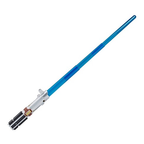 Star Wars Rey Electronic Blue Lightsaber Toy Target