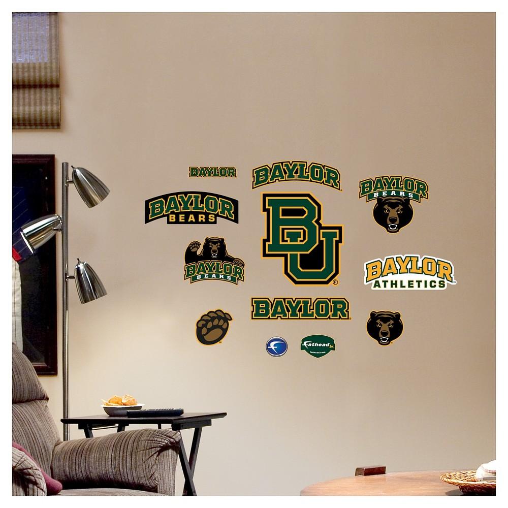 Decorative Wall Art Set Fathead 40 X 3 X 3 Baylor Bears