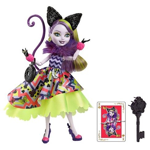Ever After High Way Too Wonderland Kitty Cheshire Doll - image 1 of 9