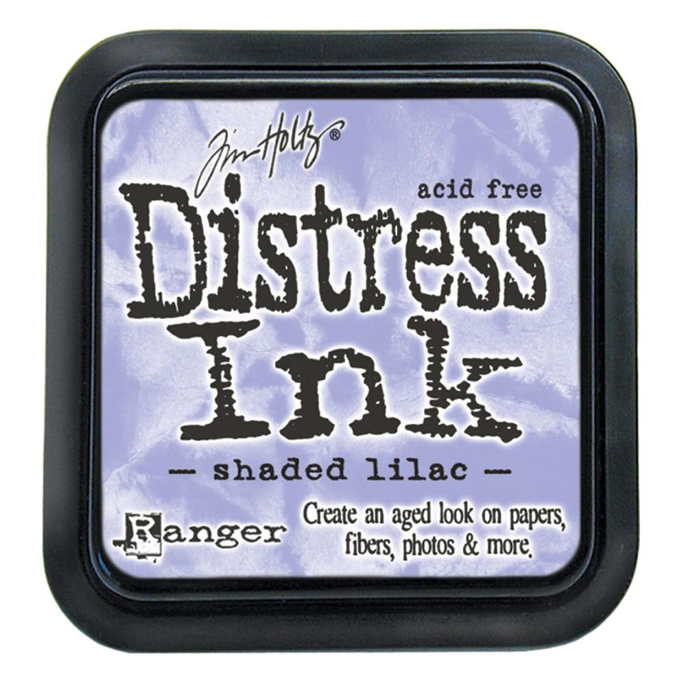 Tim Holtz Distress Ink Pad-Shaded Lilac 2.25x2.25, Shaded Lilac