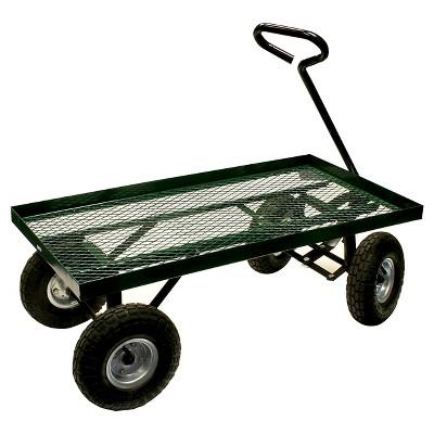 Series Flatbed Garden Cart - Green - Sportsman