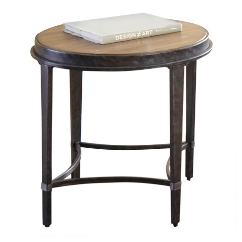 Gianna Round End Table Antique Tobacco - Steve Silver - image 1 of 3