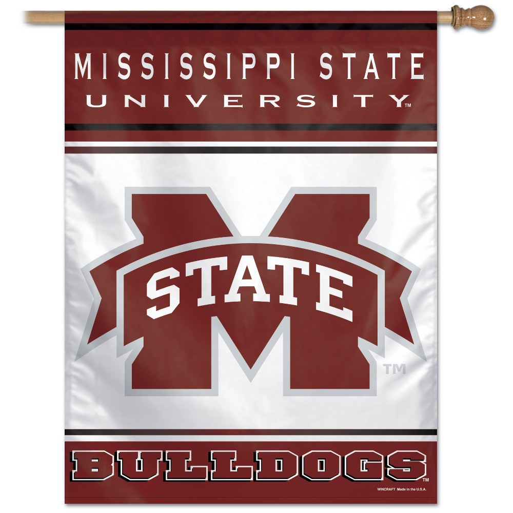 NCAA Mississippi State Bulldogs Vertical Banner