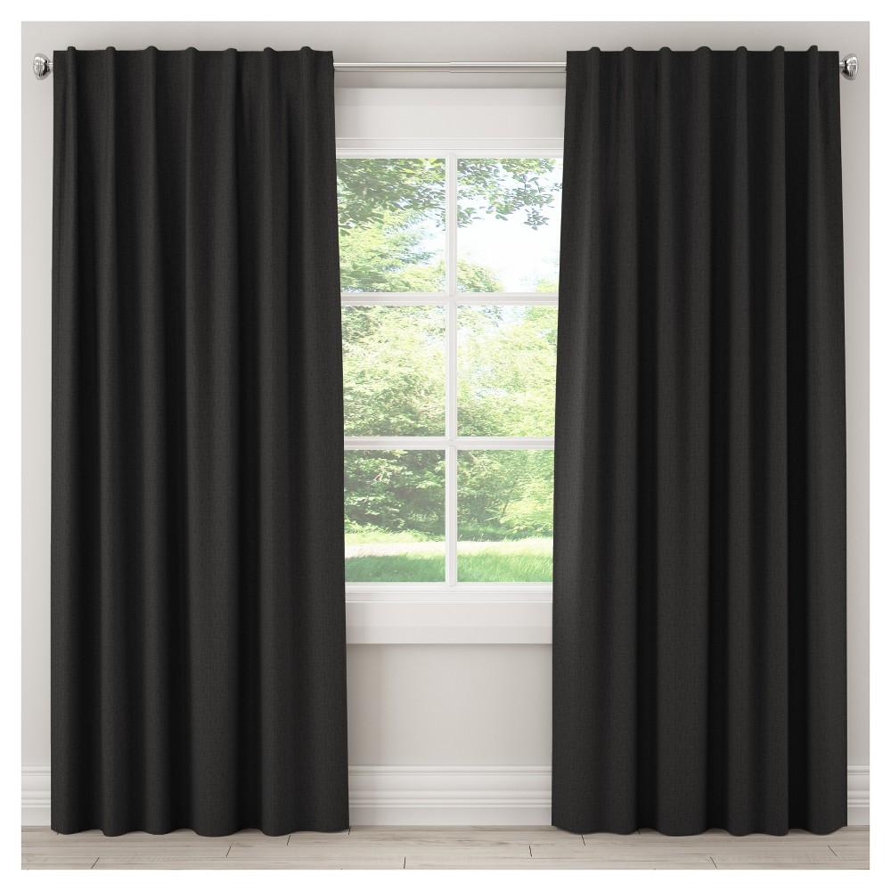 Blackout Zuma Curtain Panel Black (50