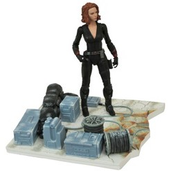 """Avengers Age of Ultron Marvel Select 7"""" Action Figure Black Widow"""