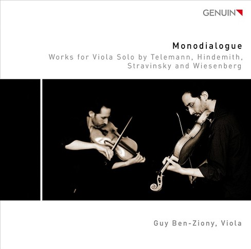 Guy ben-ziony - Monodialogue (CD) - image 1 of 1
