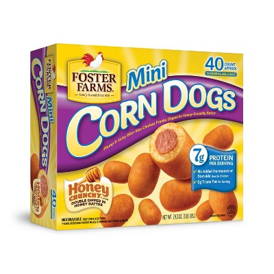 Foster Farms Mini Corn Dogs - 29.3oz/40ct