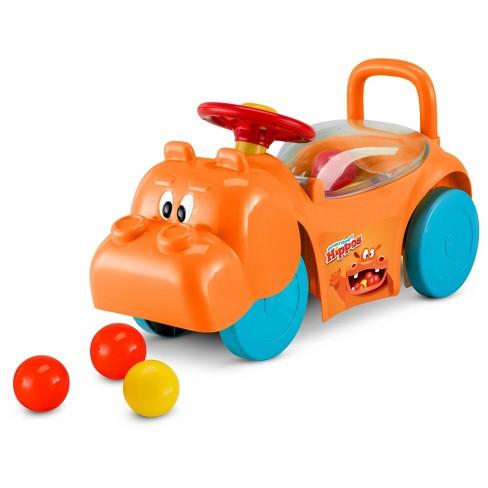 Hasbro Hungry Hippos Foot to Floor Push Riding Toy - image 1 of 4