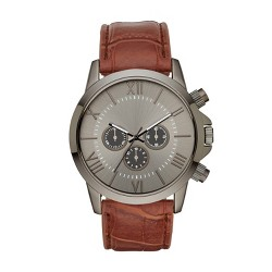 Men's Roman StrapWatch - Goodfellow & Co™ Gunmetal
