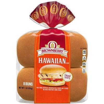 Brownerry Sweet Hawaiian Buns - 15oz