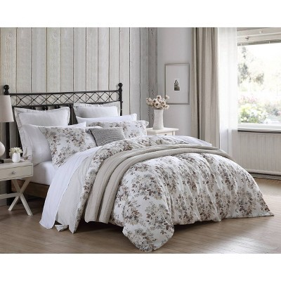 6pc Berrie Brown Comforter Sham Bonus Set - Stone Cottage