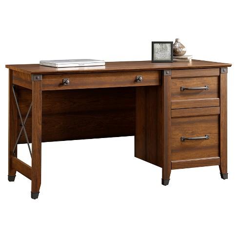 Carson Forge Desk - Washington Cherry - Sauder - image 1 of 4