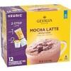 Gevalia Kaffe Mocha Latte Espresso Roast Coffee Single Serve Pods - 12ct - image 2 of 4
