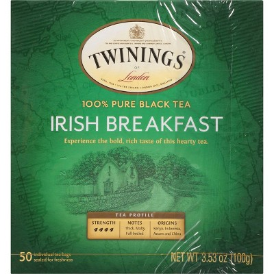 Twinings Irish Breakfast Tea - 50ct