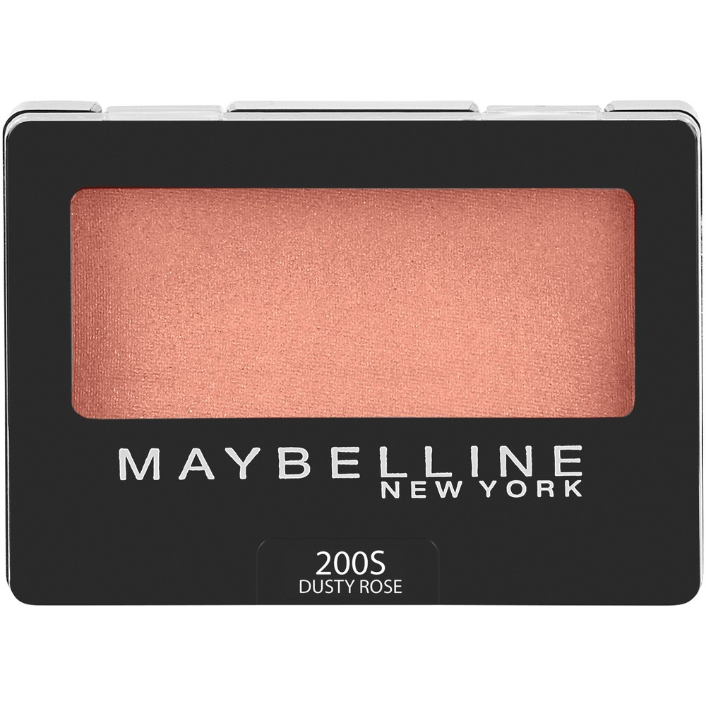 Maybelline Expert Wear Eyeshadow 200S Dusty Rose - 0.08oz, 10s Soft Pearl