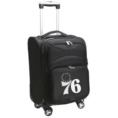 NBA Philadelphia 76ers Mojo Spinner Carry On Suitcase