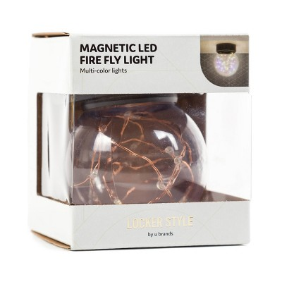 Magnetic LED Locker Fire Fly Light - Locker Style by UBrands