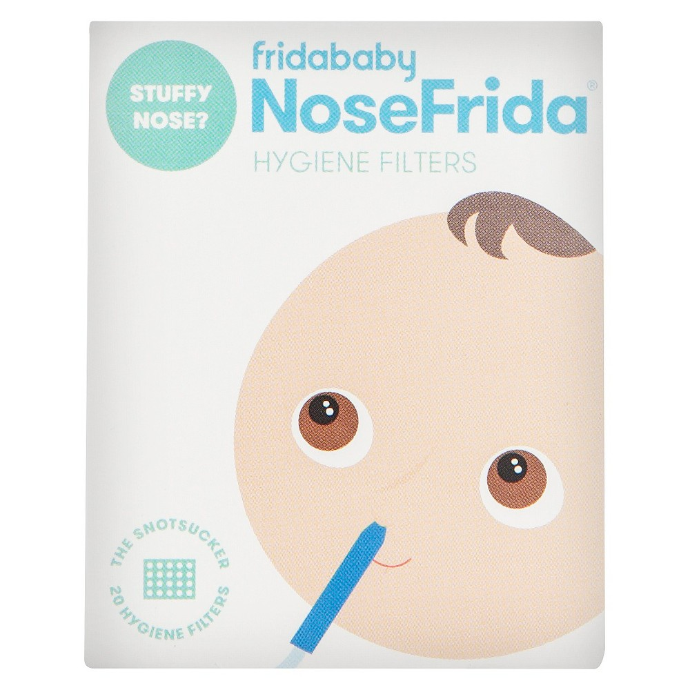 Image of Fridababy NoseFrida Hygiene Filters - 20ct, Blue