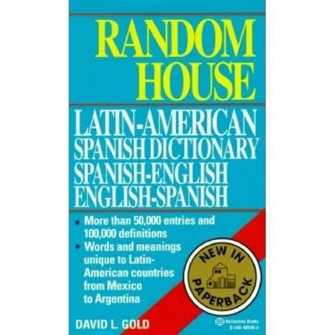 Random House Latin-American Spanish Dictionary - (Paperback) - image 1 of 1