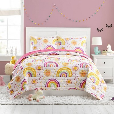Rainbows and Suns Quilt Set - Urban Playground