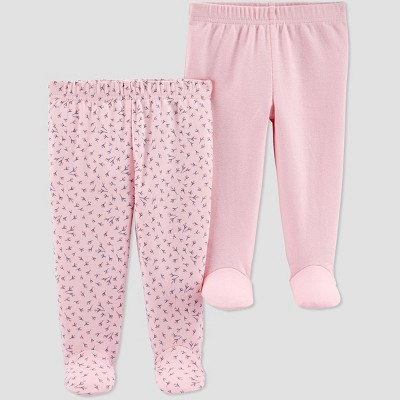 Baby Girls' 2pk Leggings - Just One You® made by carter's Pink Newborn