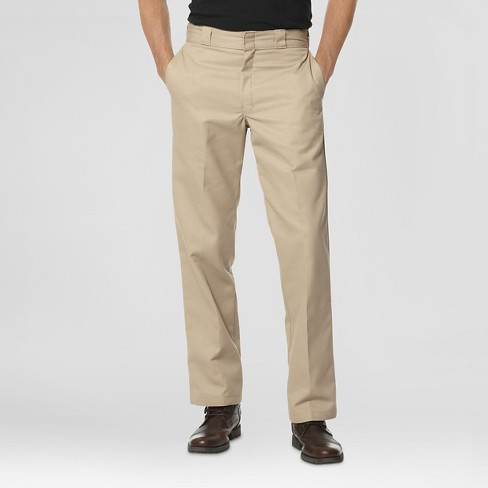 58866ef8f51 Dickies® Men s Regular Straight Fit Twill Work Pants with Extra Pocket