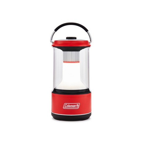Coleman 800 Lumens LED Lantern with BatteryGuard - Red
