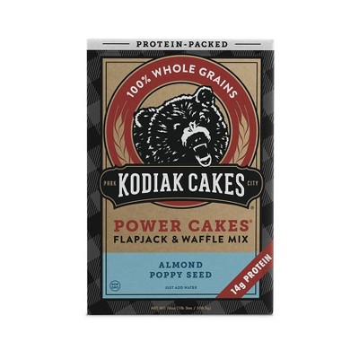 Kodiak Cakes Almond Poppyseed Flapjack & Waffle Mix - 18oz
