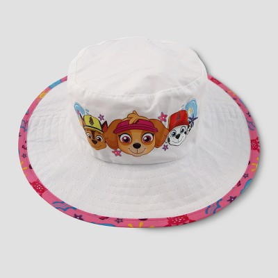 Toddler Girls' PAW Patrol Safari Sun Hat - White One Size