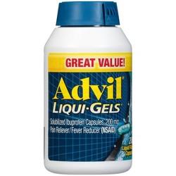 Advil Liqui-Gels Pain Reliever/Fever Reducer Liquid Filled Capsules - Ibuprofen (NSAID)