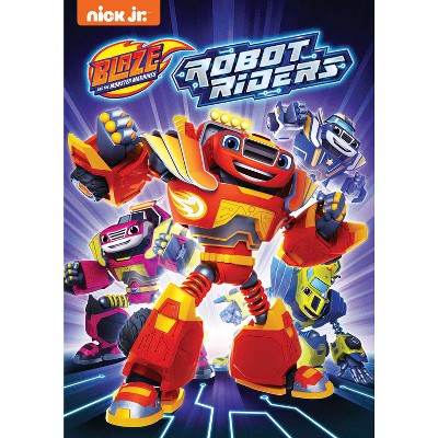 Blaze and the Monster Machines: Robot Riders DVD