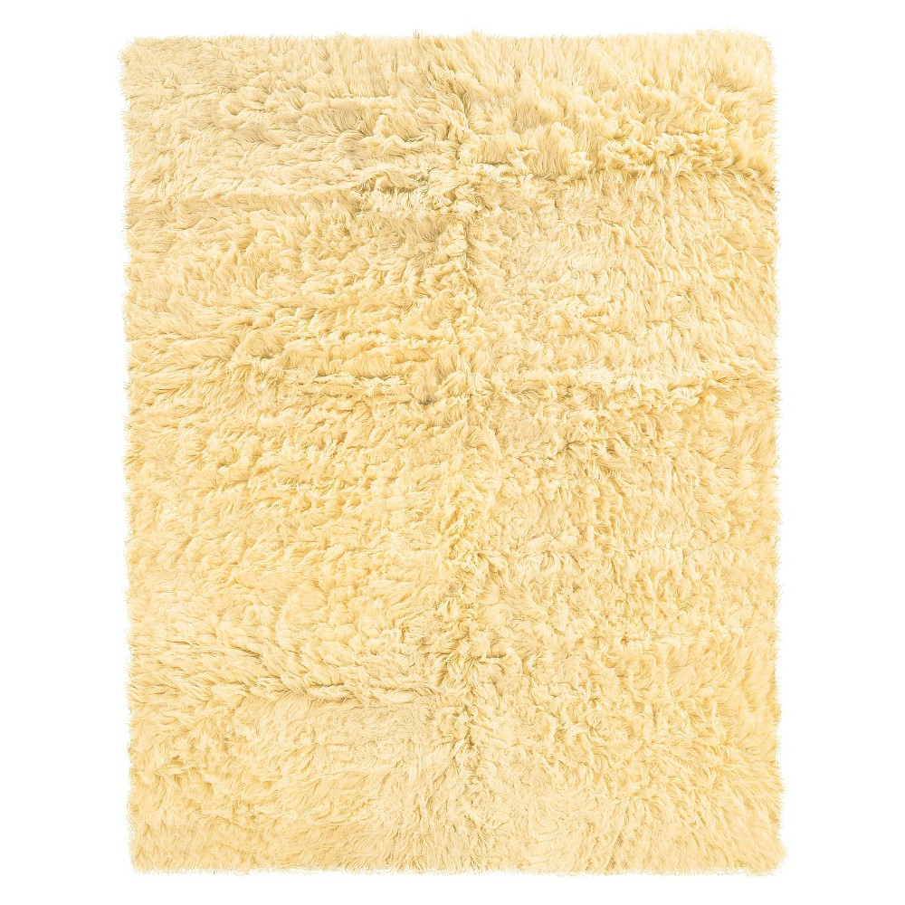 Image of 100% New Zealand Wool Flokati Accent Rug - Natural (2'X6'), Size: 2'x5'