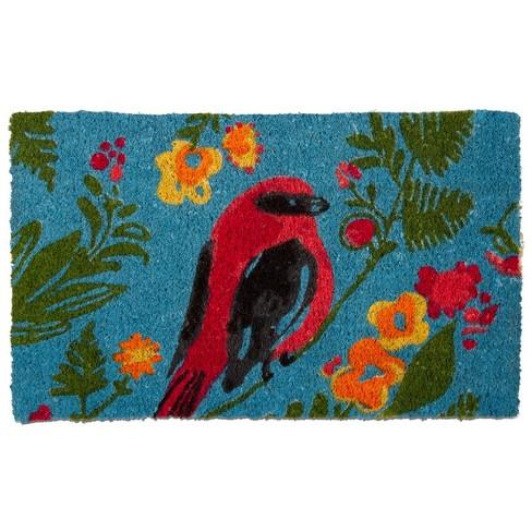 TAG Song Bird Coir Doormat Indoor Outdoor Welcome Mat - image 1 of 4