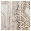 Broken Lines Shower Curtain Gray - Room Essentials™ - image 2 of 3