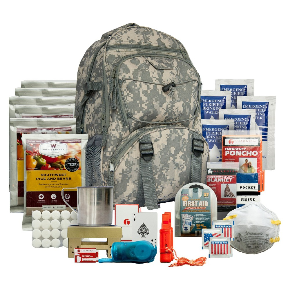 Wise Food 5 Day Survival Back Pack Camo