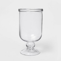 Glass Hurricane Votive Candle Holder Clear - Threshold™