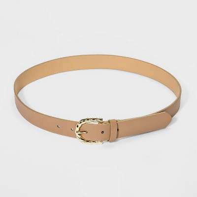 Women's Gold Rope Buckle Belt - A New Day™