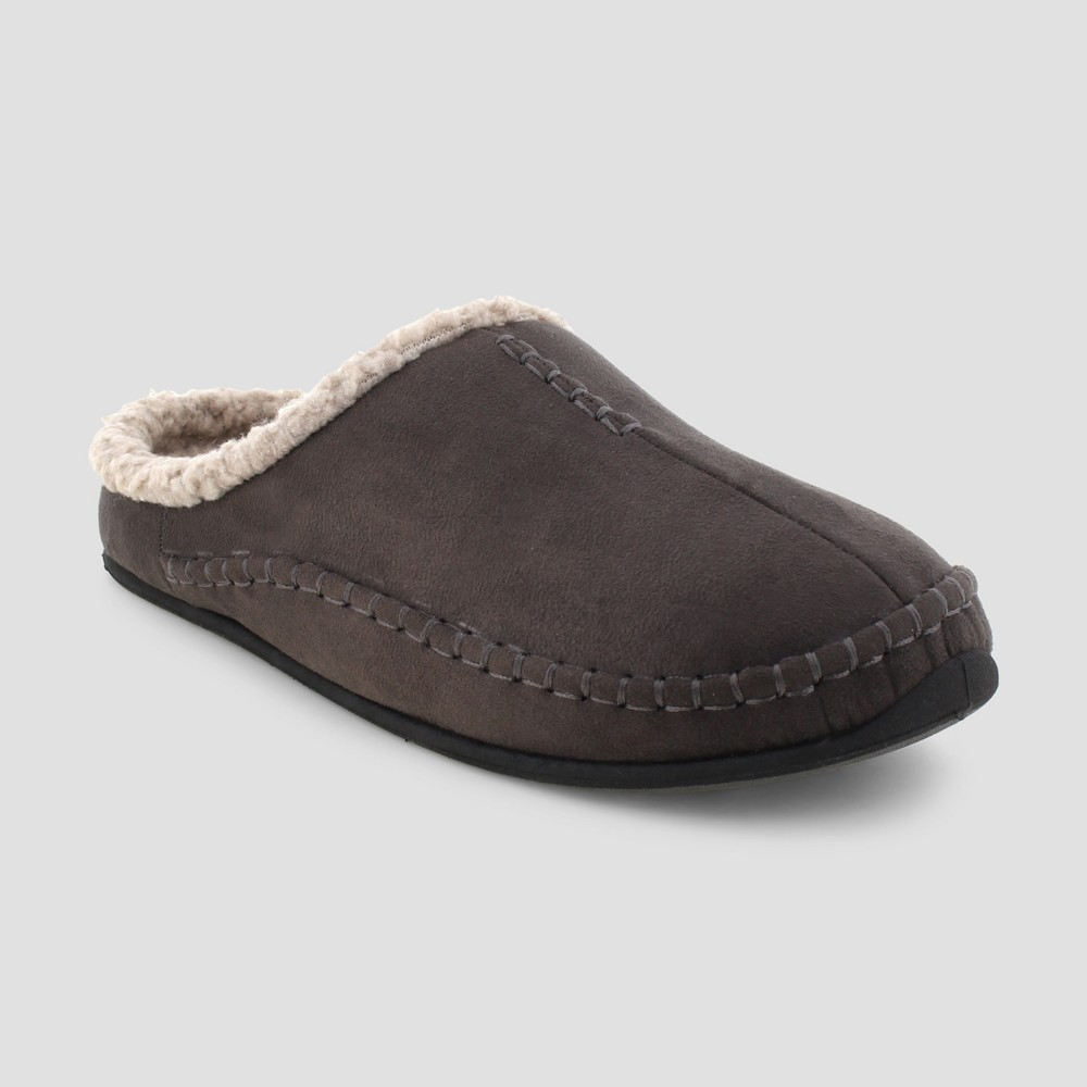 Men's Deer Stags Nordic Slide Slippers - Charcoal (Grey) 12