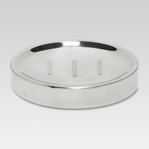 Oilcan Soap Dish Chrome - Threshold™ - image 1 of 1