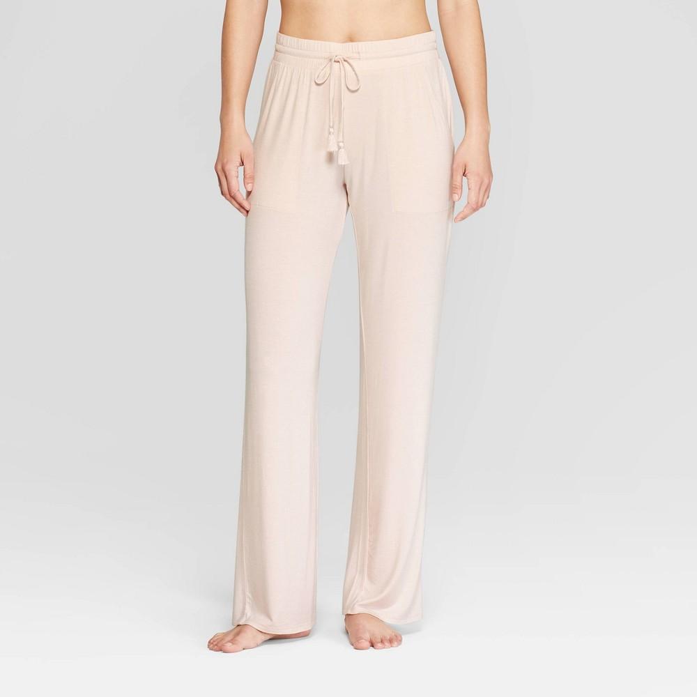Women's Beautifully Soft Pajama Pants - Stars Above Pink S