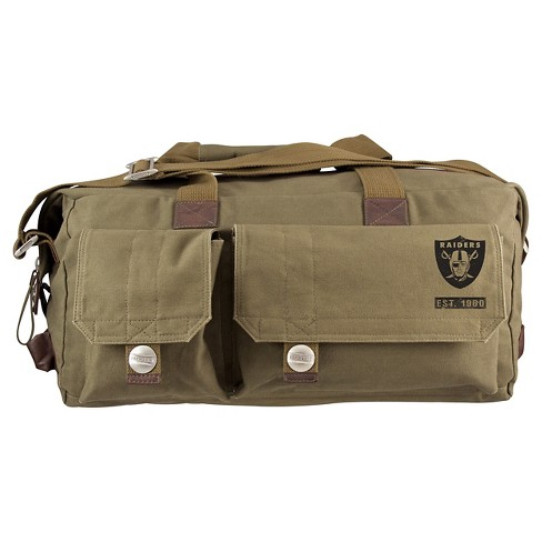 Oakland Raiders Little Earth Large Prospect Weekender Bag - image 1 of 1