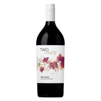 Two Vines Merlot-Cabernet Red Wine - 1.5l Bottle