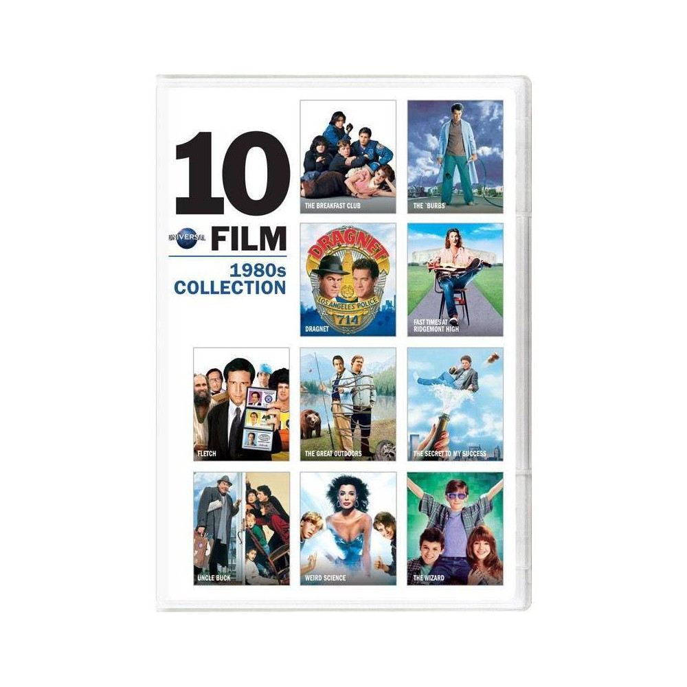Universal 10 Film 1980 39 S Collection Dvd