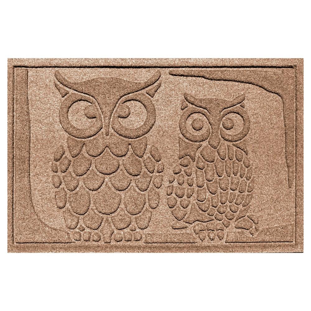Medium Brown Animals Pressed Doormat - (2'X3') - Bungalow Flooring