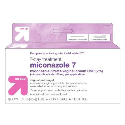Miconazole Vaginal Antifungal Cream 7 day Treatment - up & up™