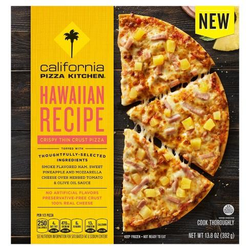 California Pizza Kitchen Hawaiian Recipe Crispy Thin Crust Pizza ...