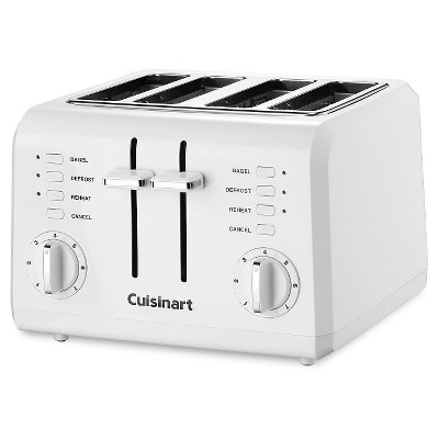 Cuisinart® 4 Slice Compact Toaster - White CPT-142