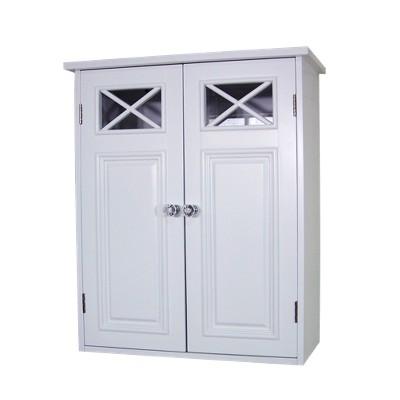 Dawson Wall Cabinet White - Elegant Home Fashions
